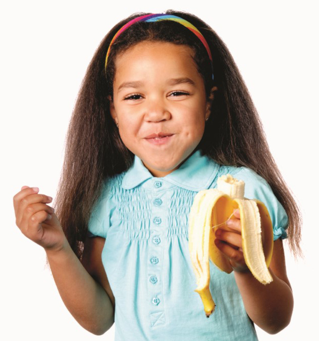 Mo 27 girl eating banana
