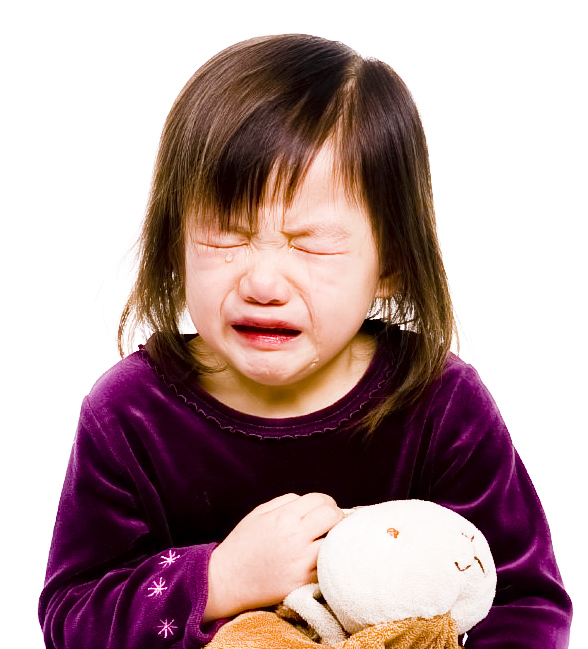 Childhood Series 7 (crying with Bunny 2)